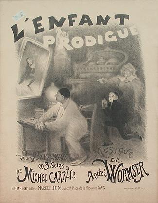 'L'Enfant Prodigue' score