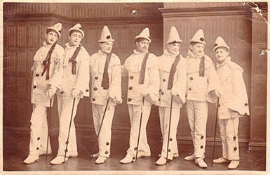 'The-Dandy-Coons'-Worthing,-Posted-1905