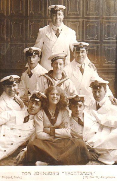 Tom Johnson's 'Yachtsmen', Aberystwyth, 1911