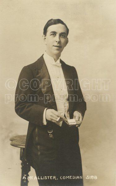A McAllister (Mac) comedian 1914
