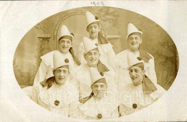 Catlin's Pierrots, Colwyn Bay, 1909