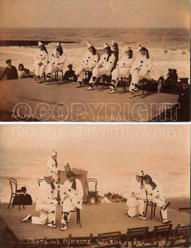 Catlin's Pierrots, Withernsea, 1910
