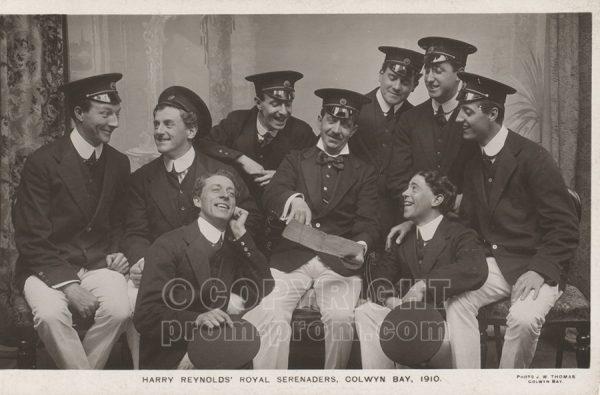 Harry Reynolds Royal Serenaders Colwyn Bay 1910