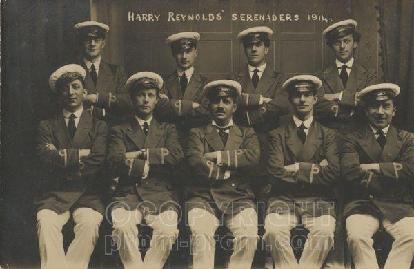 Harry Reynolds Serenaders Colwyn Bay 1914