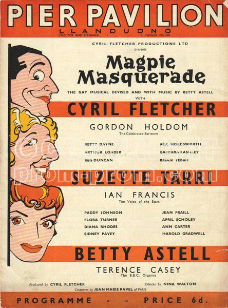 Magpie Masquerade Pier Pavilion Llandudno