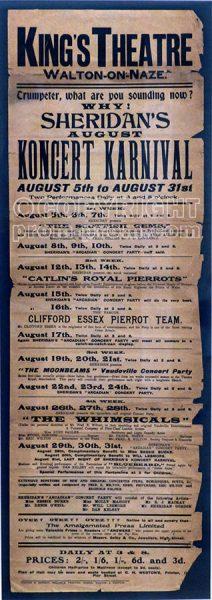 Rare-pierrot-bill-poster-circa-1911
