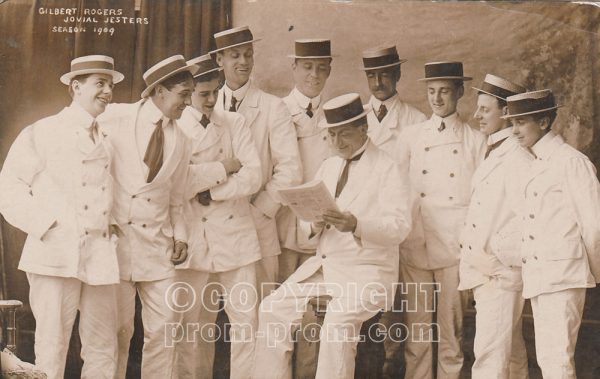 Gilbert Rogers' Jovial Jesters, Rhyl,-1909 (Front)