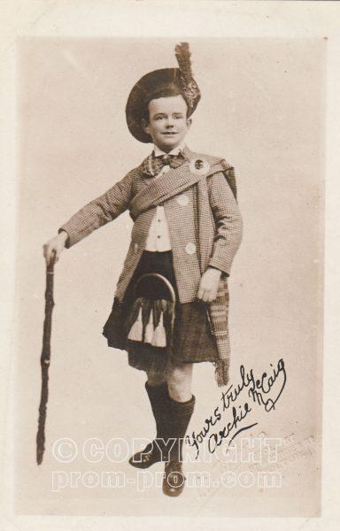 Archie McCaig, Rhyl Pier Pavilion, The Australian Larkins, 1912