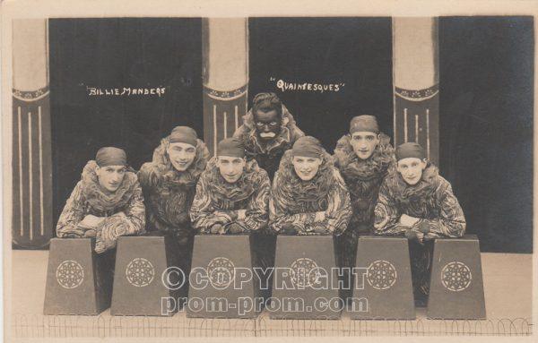 Billie Manders' Quaintesques, Rhyl (Front)