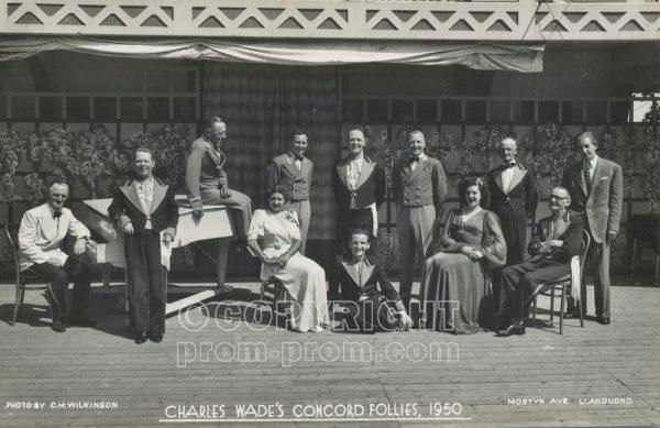 Charles Wade's Concord Follies, 1950