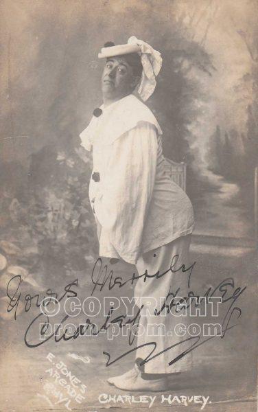 Charlie Harvey, Adeler & Sutton's Pierrots, Rhyl