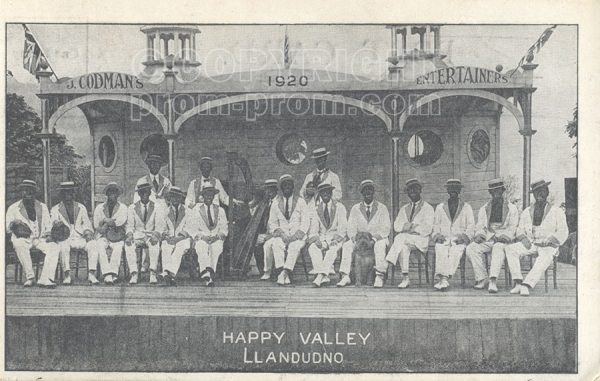 Codman's Entertainers, Happy Valley 1910