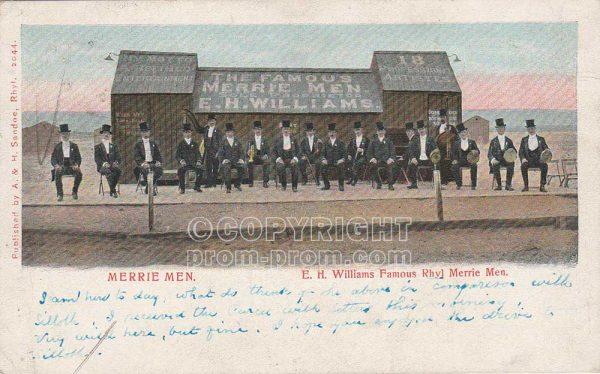 EH Williams' Famous Rhyl Merrie Men, 1903