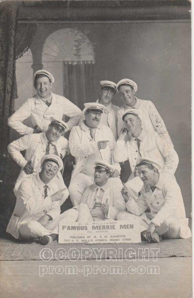 EH Williams' Famous Rhyl Merrie Men, 1906
