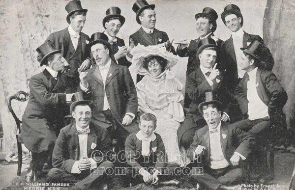 EH Williams' Famous Rhyl Merrie Men, 1905
