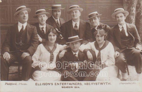 Ellison's Entertainers, Aberystwyth, 1914