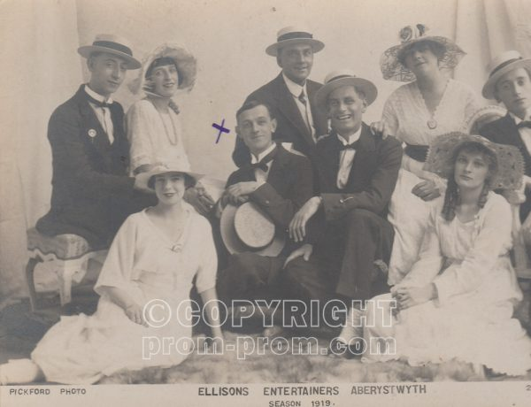 Ellison's Entertainers, Aberystwyth, 1919 (Arthur-Carlton)