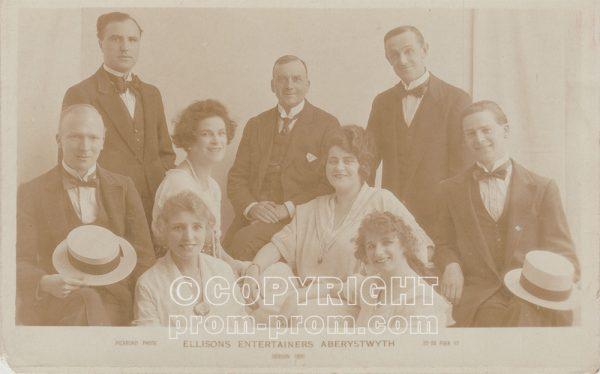 Ellison's Entertainers, Aberystwyth, 1923