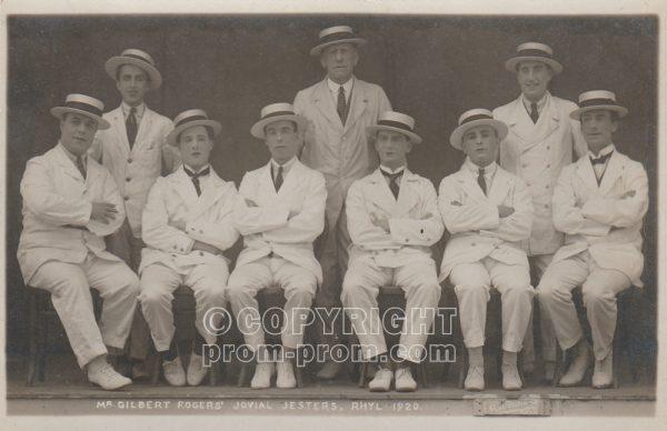 Gilbert Rogers' Jovial Jesters, Rhyl, 1920
