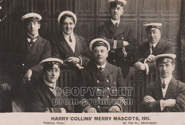 Harry Collins' Merry Mascot, Aberystwyth, 1911
