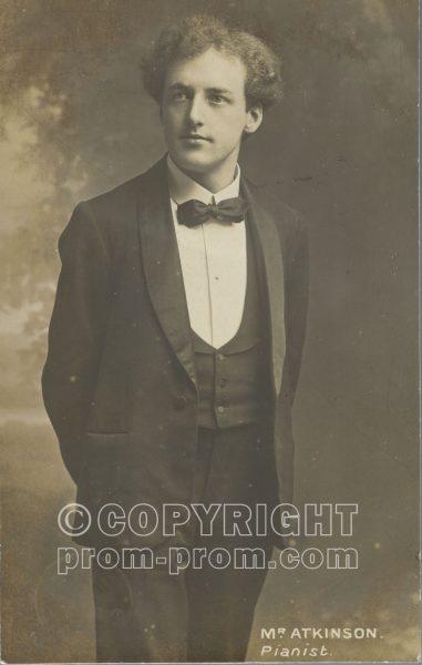 Mr Atkinson, pianist 1906
