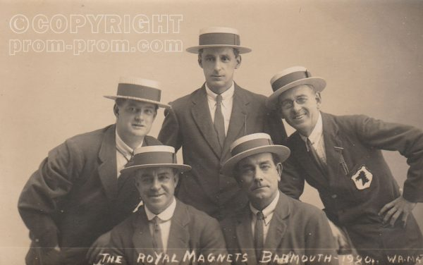 Pare & Bowden's Royal Magnets, Barmouth, 1920, (Front)