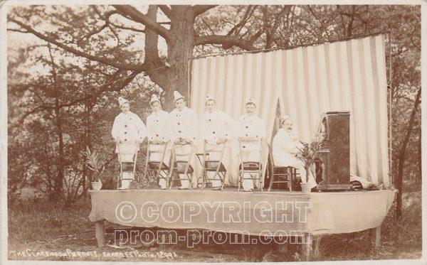 The Clarendon Pierrots, Rhyl, 1907