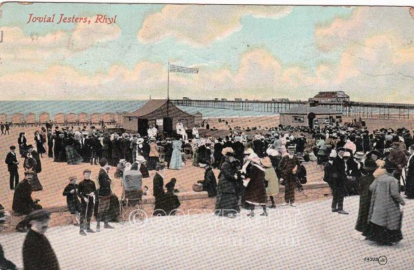 The Jovial Jesters, Rhyl, 1913