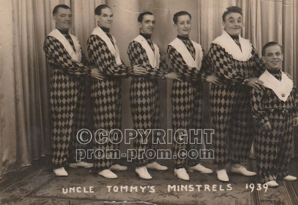 Uncle Tommy's Merry Minstrels, Aberystwyth, 1939