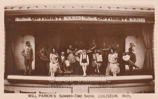 Will Parkin's Summertime Show, Coliseum, Rhyl