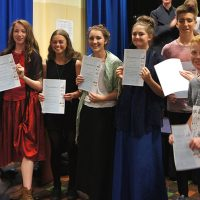 DCC-getting-their-Artsmark-awards