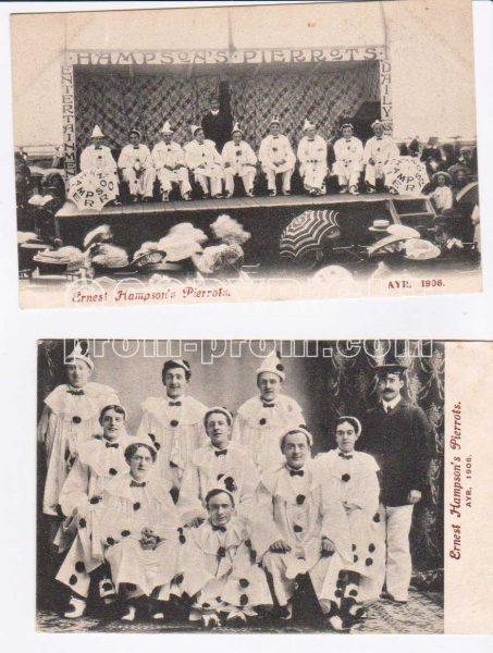 Ernest-Hampson's-Pierrots,-Ayr-1906